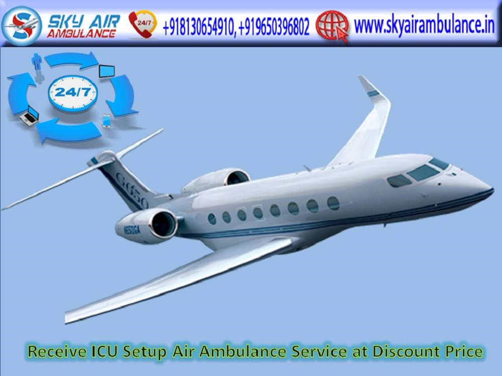 Book Low Budget Air Ambulance Service in Gaya with ICU Specialist