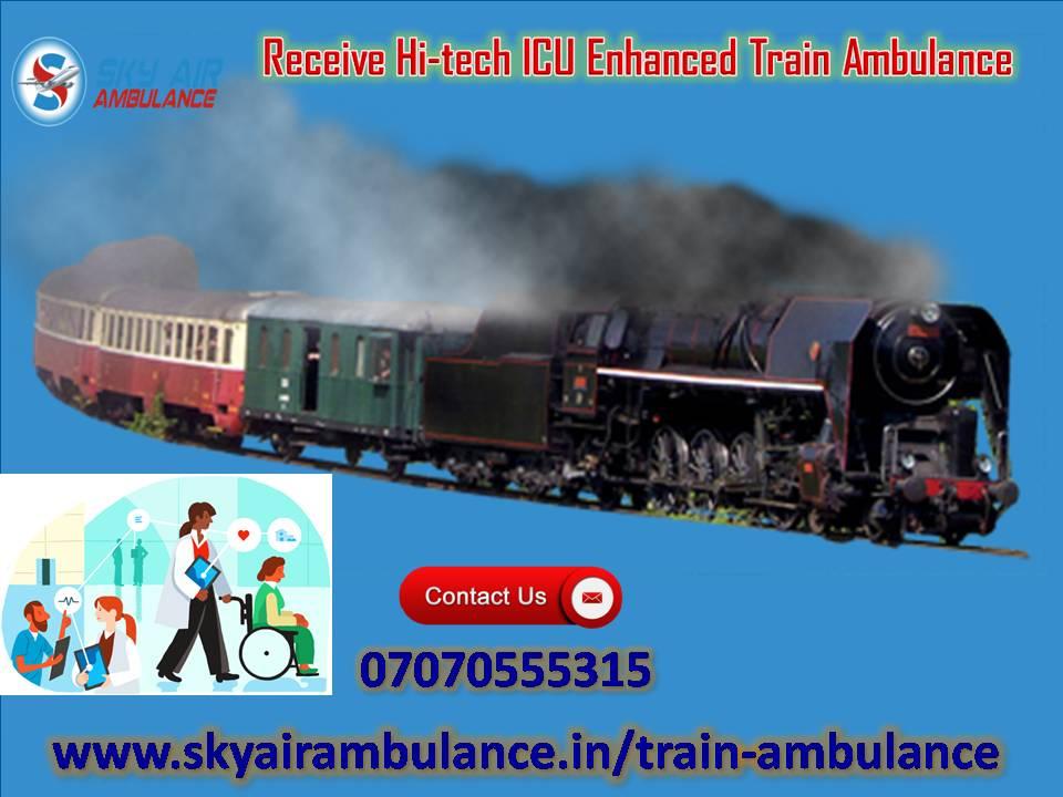 Get Cost-Effect ICU Facility in Train Ambulance from Kolkata