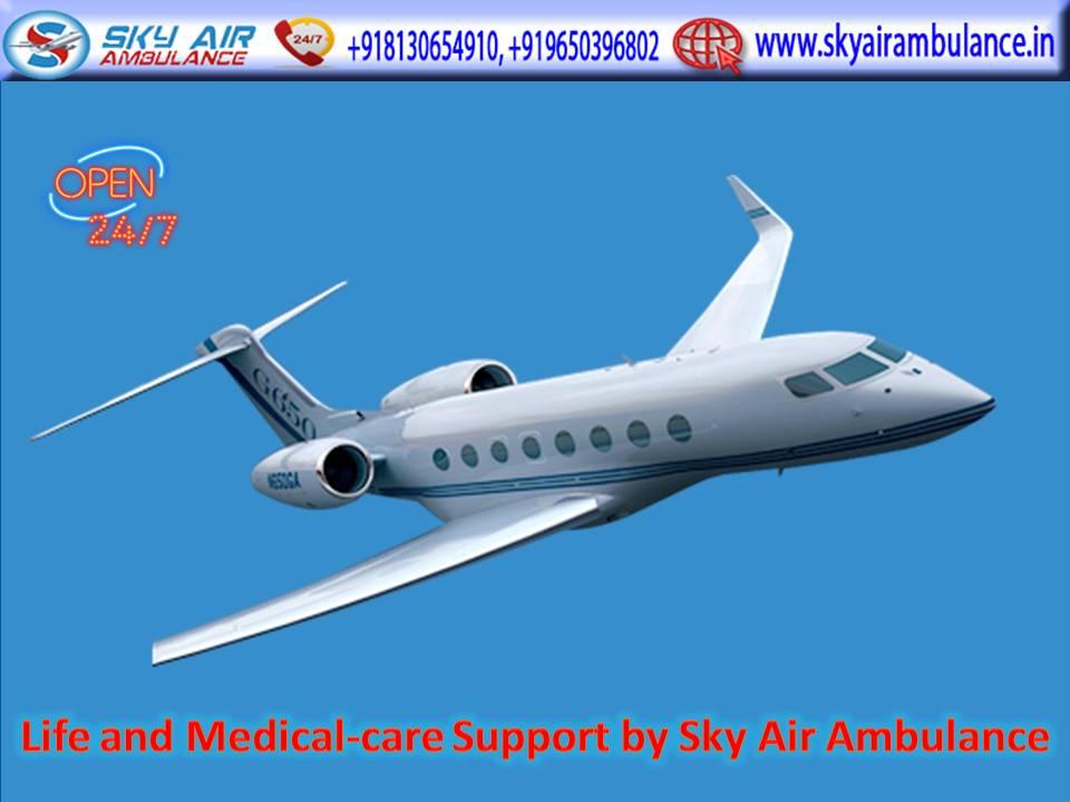 Take Royal ICU Setup Air Ambulance Service in Imphal