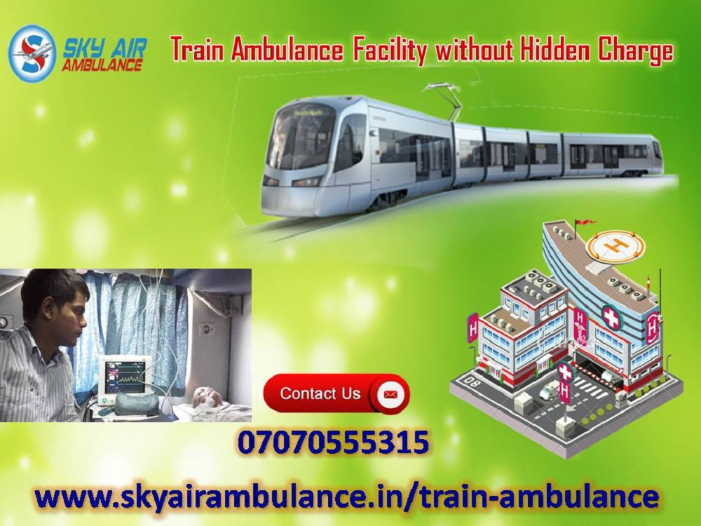 Utilize World-Class CCU Occupied Rail Ambulance Service in Mumbai