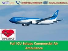 Modern ICU Facility Air Ambulance Service in Mumbai