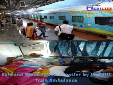 Now Easily Get Medilift Train Ambulance from Patna at Low Fare